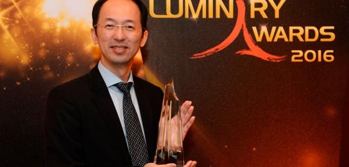 ASUS gana el premio Luminaria a la Innovación 2016 de Channel NewsAsia