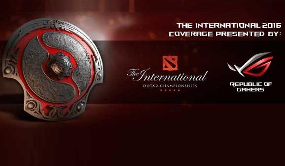 ASUS Republic Of Gamers será el Proveedor Oficial de Hardware en el International 2016
